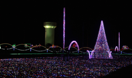 How to experience Speedway Christmas, Charlotte Motor Speedway's 3.5-mile drive-through holiday...
