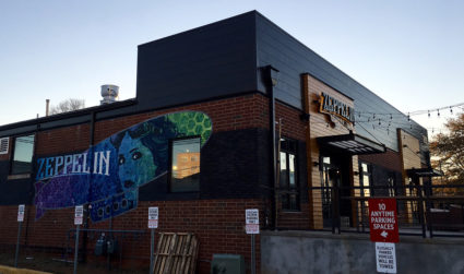 Zeppelin, an upscale restaurant and cocktail lounge, will open December 26 in South End
