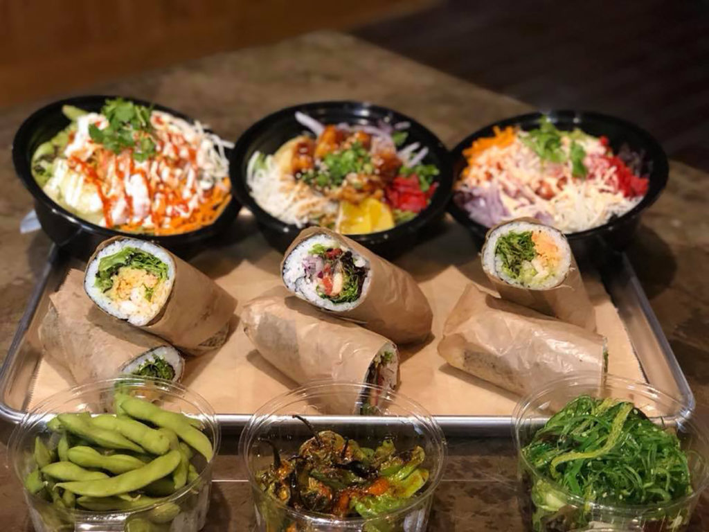 Umami PokéRito is now open in South Charlotte. Take a look at 5 popular menu items.