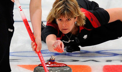 Charlotte Curling Open House – featuring an Olympian