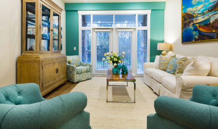 Cozy feel at the Apartments at Holly Crest