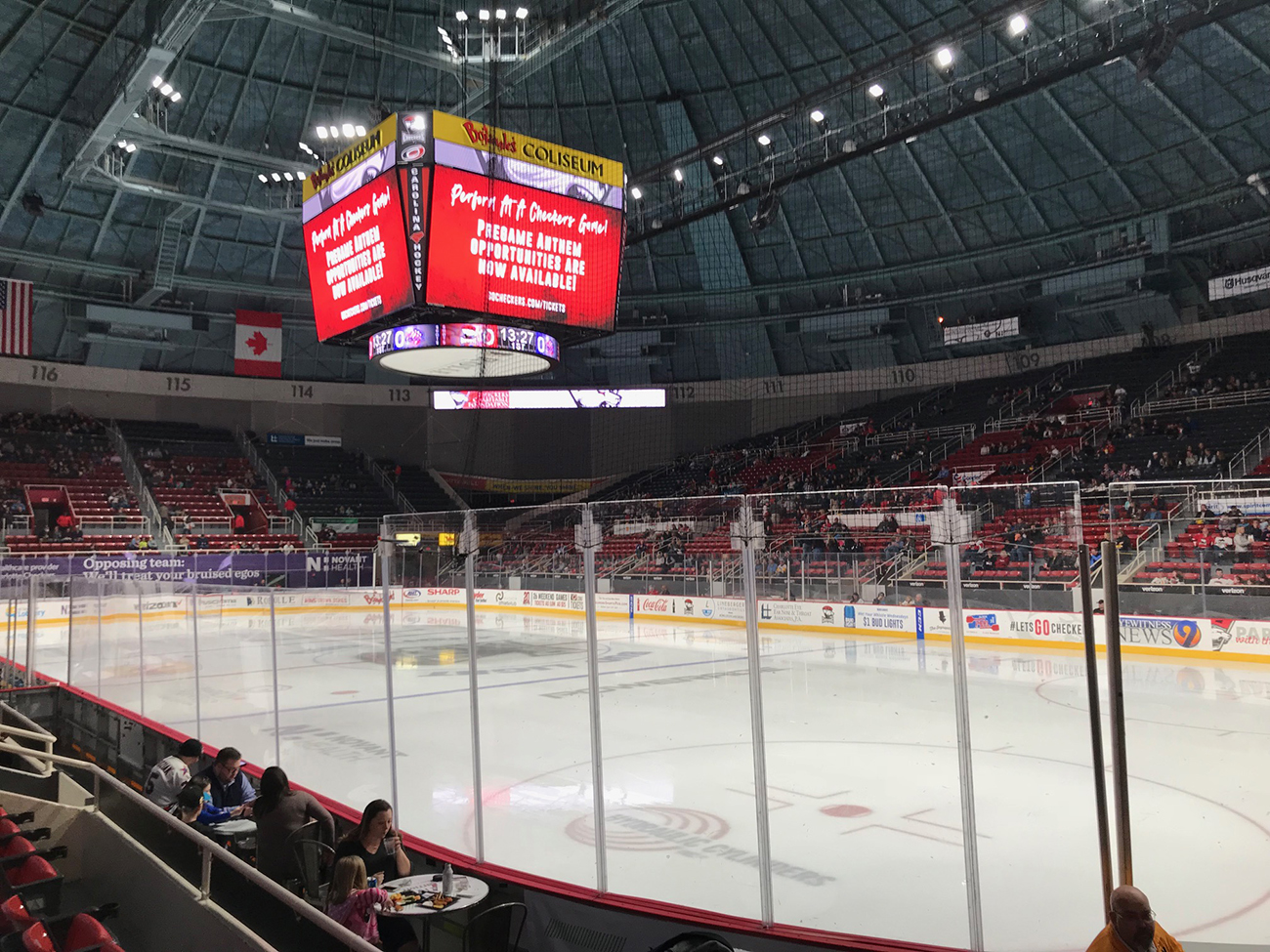 Mini Guide: 6 takeaways from attending my first Charlotte Checkers hockey game