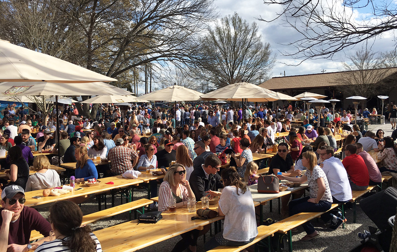 Complete list and map of Charlotte's 30 local breweries, plus the most popular beer at each