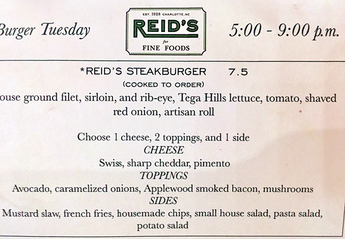 burger-tuesday-menu-at-reids-charlotte