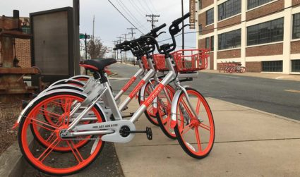 I tried all 4 of Charlotte's dockless bike shares. Here's my...