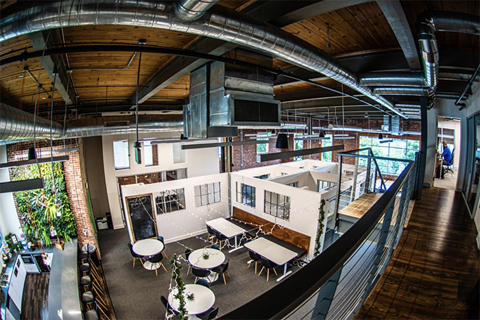 launch factory coworking space in charlotte