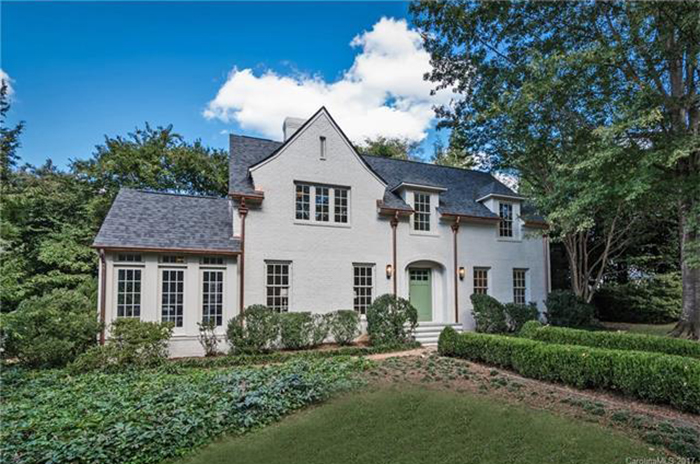 myers park mansion open house real estate
