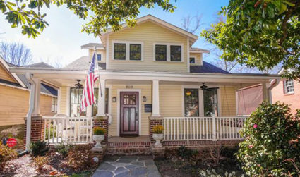 Picturesque Dilworth home with lots of character