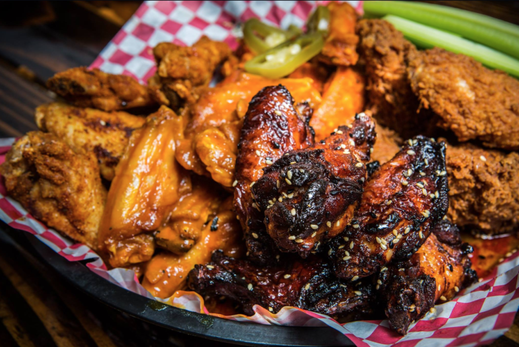 Why did d.d. Peckers do approximately 15,000 wings on Super Bowl Sunday? Because their wings are freaking delicious