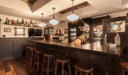 You've got to see this Ri Ra-inspired Irish pub basement in...