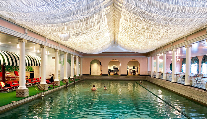 indoor-pool-at-the-greenbrier hotel