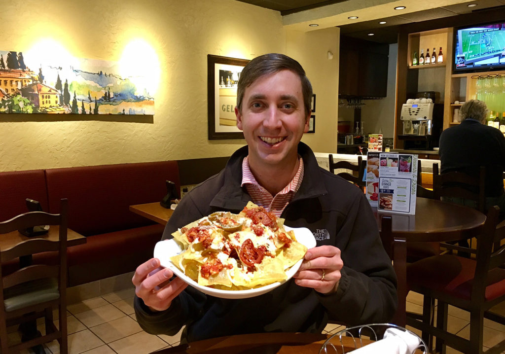 "I ordered the 1,520-calorie ""Italian Nachos"" from Olive Garden"