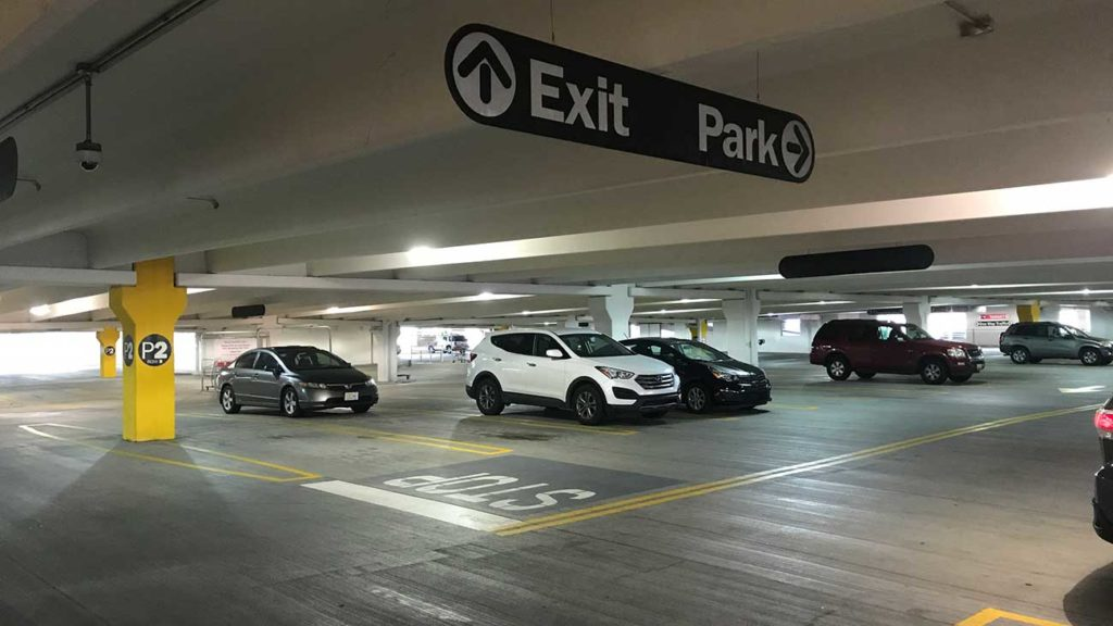 Charlotte's tight parking spots often smaller than city rules allow