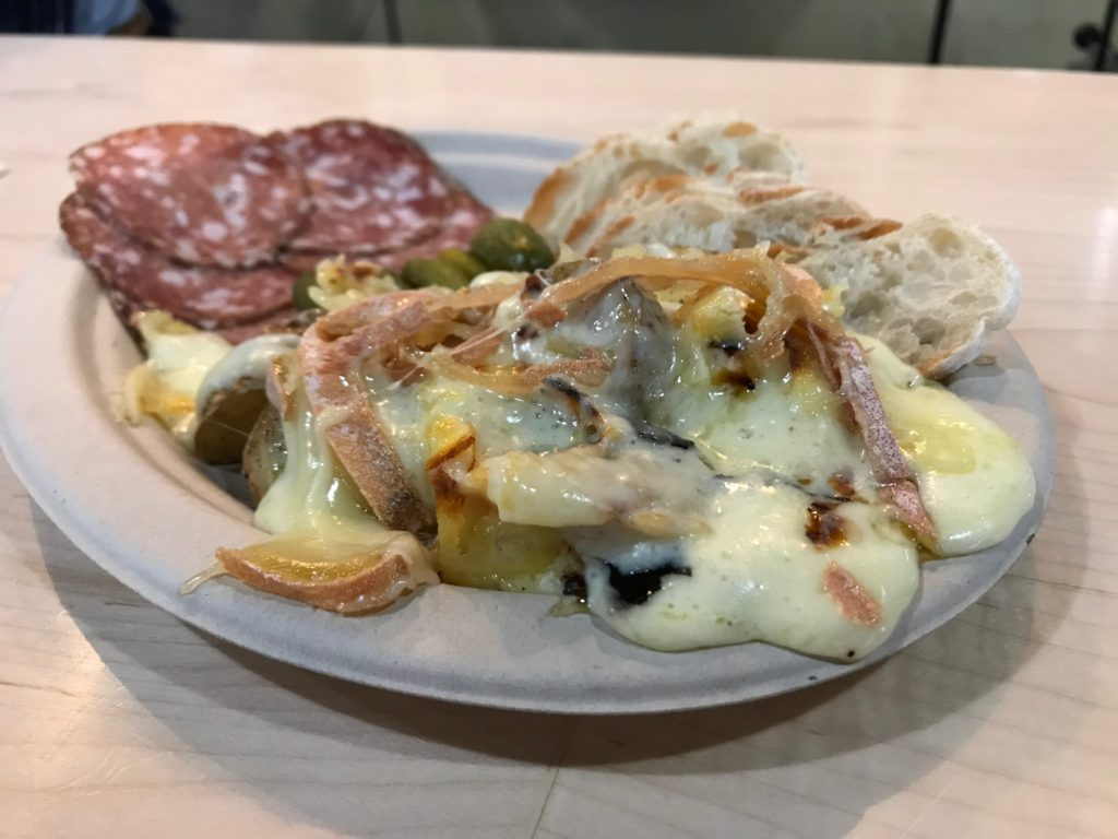 Here's how the weekly Raclette Night works at Orrman's Cheese Shop
