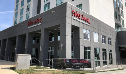 Suki Akor, a new sushi bar and Japanese steakhouse, opening soon...