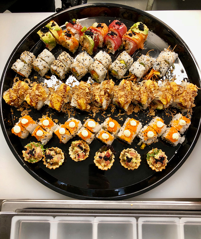 sushi-rolls-at-sushi-guru-plaza-midwood-charlotte