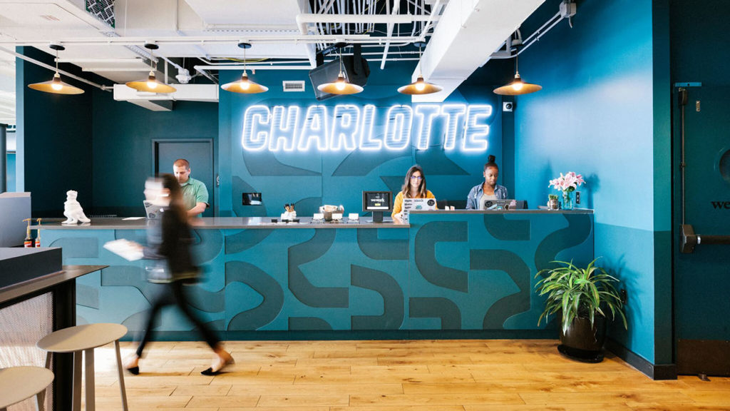 Charlotte is officially a coworking city – here's how WeWork has taken it to the next level.