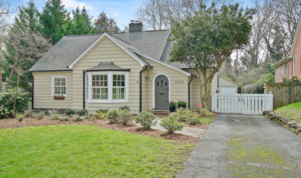 Charming craftsmen style bungalow in Myers Park