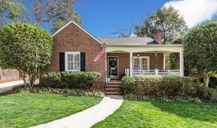 Home of the day: Adorable home in amazing Myers Park location / 3bd,2ba / $579,000