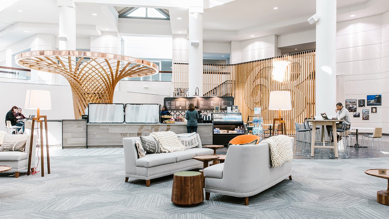 A Day In The Life At The Newly Renovated Belk Hq Meet Carrie Brown Senior Planner Charlotte