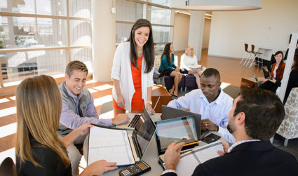 Swing by Coco and the Director today between 10 a.m.-2 p.m. for an info session to learn how you can earn a Clemson MBA