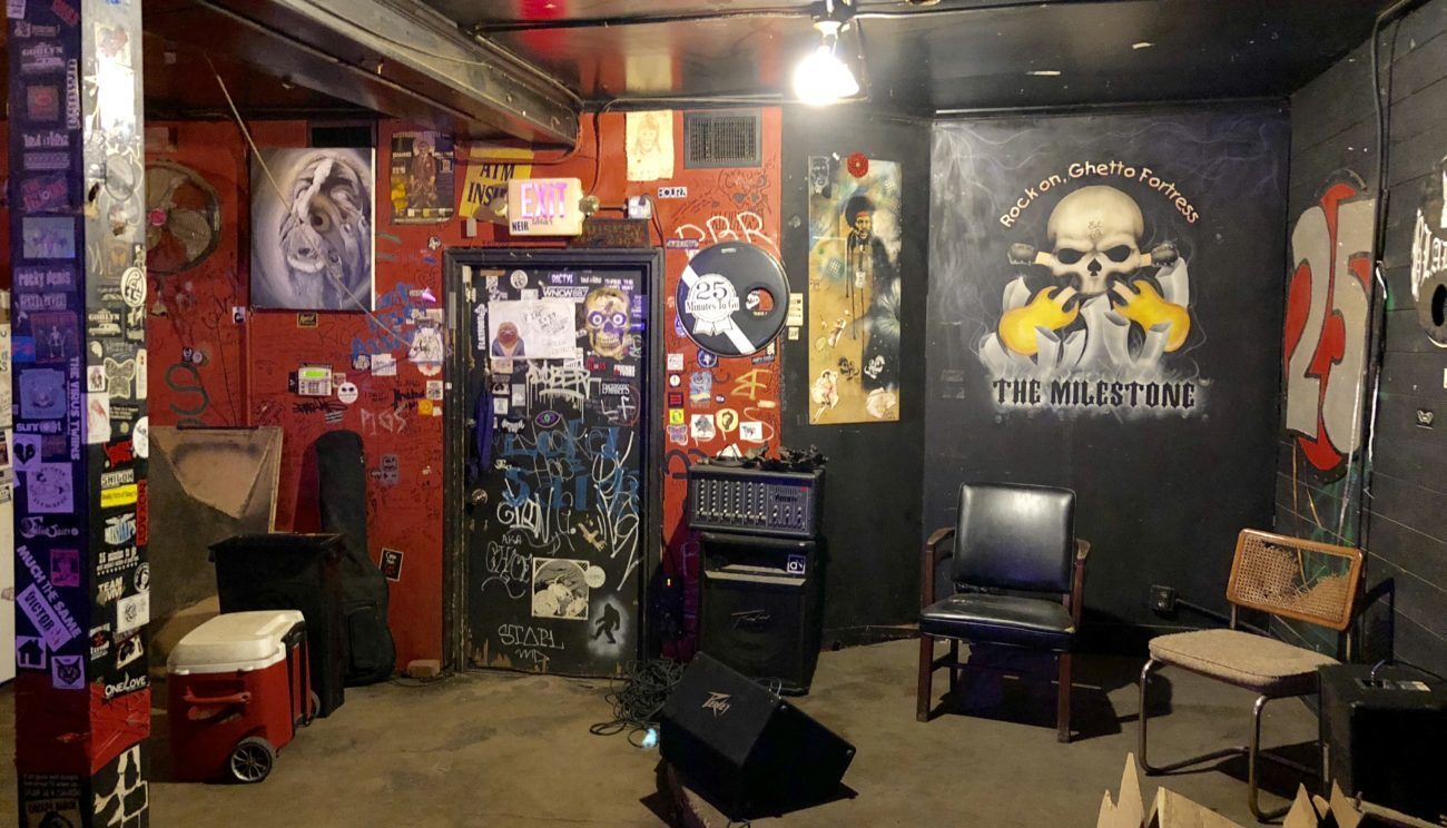How to have a totally punk rock night at the world-famous Milestone Club