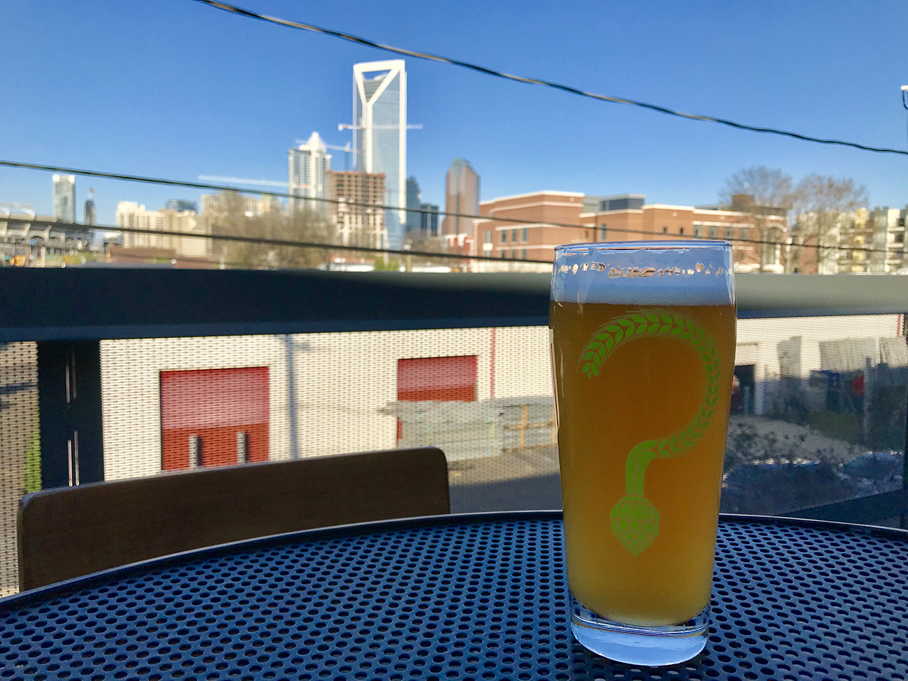 See inside Unknown Brewing's half-million-dollar renovation, including a rooftop patio with a killer view
