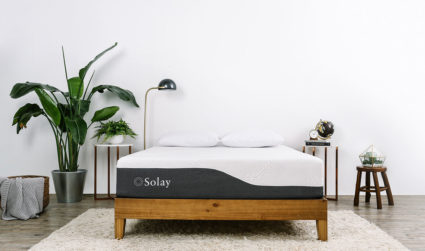 This is NOT your typical mattress-in-a-box. Meet Solay.