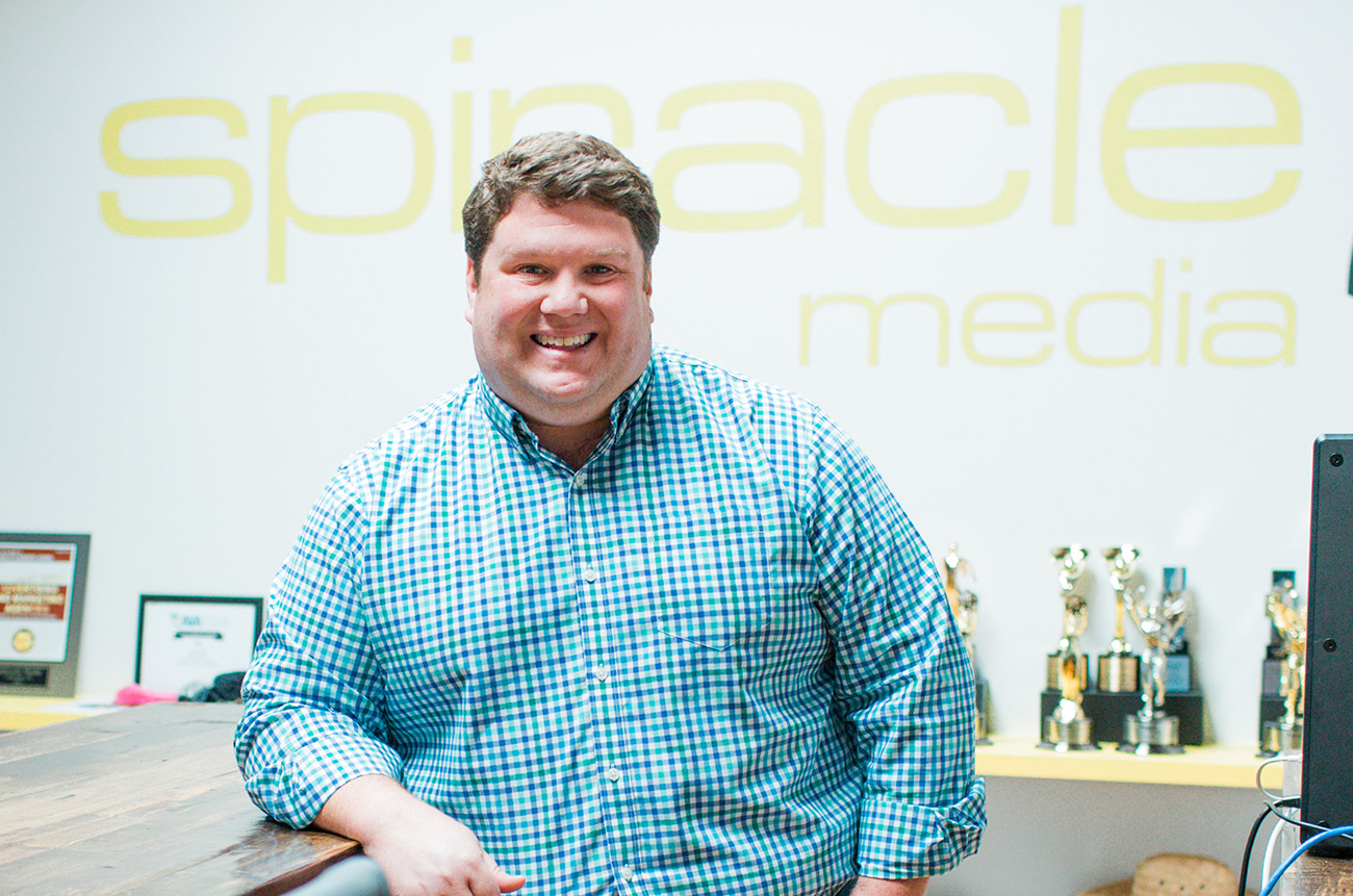 Small Businessperson of the Year finalist: 5 questions with Tim Baier, co-founder of Spiracle Media