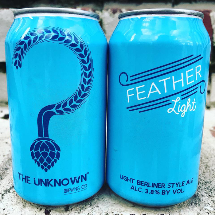 feather-light-cans-charlotte-unknown-brewing