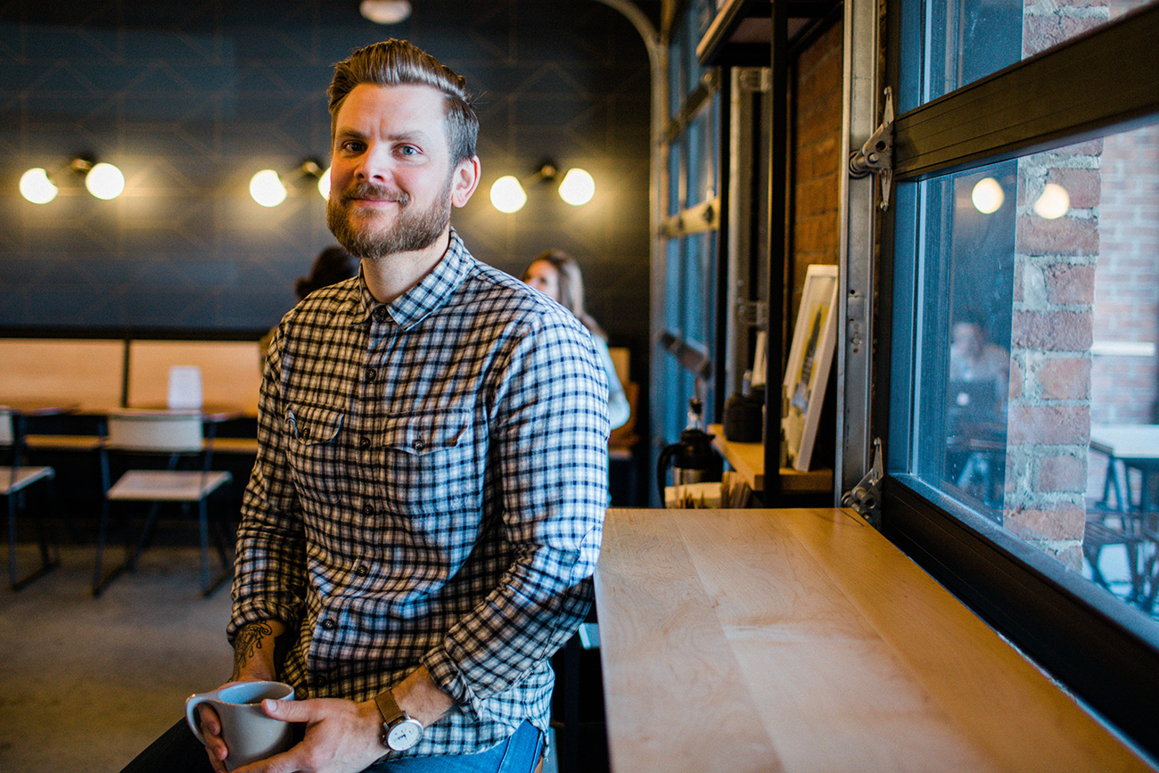 Small Businessperson of the Year: James Yoder has built Not Just Coffee into a Charlotte institution