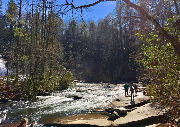 waterfall-hike-near-charlotte