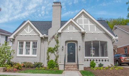 Tudor home in convenient East Blvd location