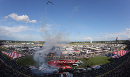 Kick off your summer at the Coca-Cola 600 on May 27 at the Charlotte Motor Speedway featuring an Eli Young Band pre-race concert, tickets $49+