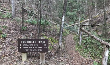 How to spend a weekend hiking the Foothills Trail in South...