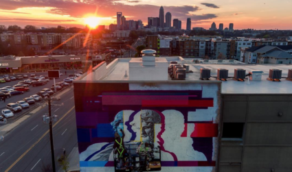 The story behind Plaza Midwood's new 5-story mural