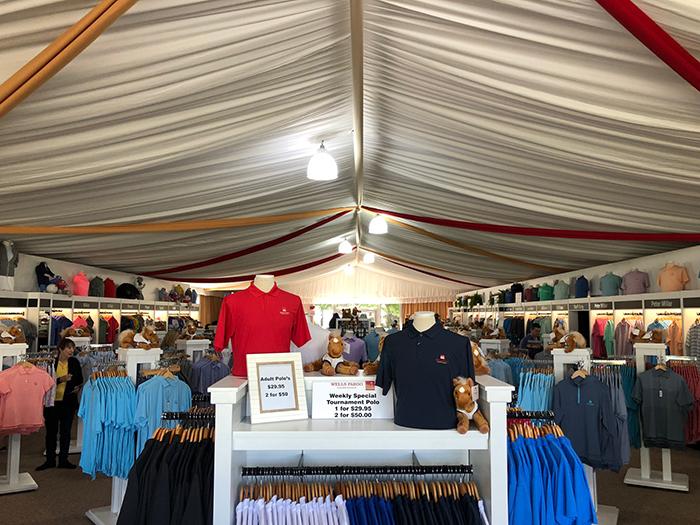 merchandise-tent-wells-fargo-golf-championship