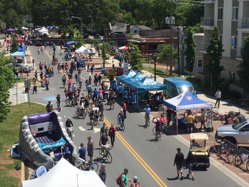 Open Streets 704 is back and expected to draw 25,000+ participants to a car-free route from NoDa to Plaza Midwood