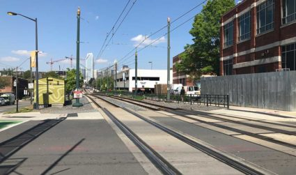 As South End becomes more pedestrian friendly, this confusing Rail Trail...