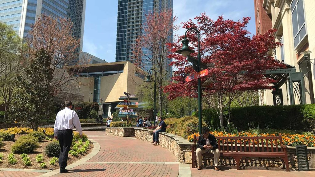 The Green has become Uptown's smoking den