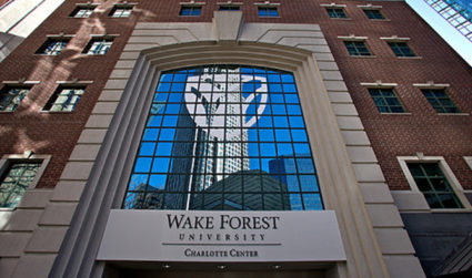 Wake Forest Charlotte MBA Sip & See