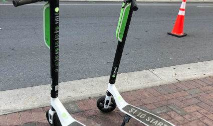 Step-by-step guide to riding Charlotte's new rentable scooters