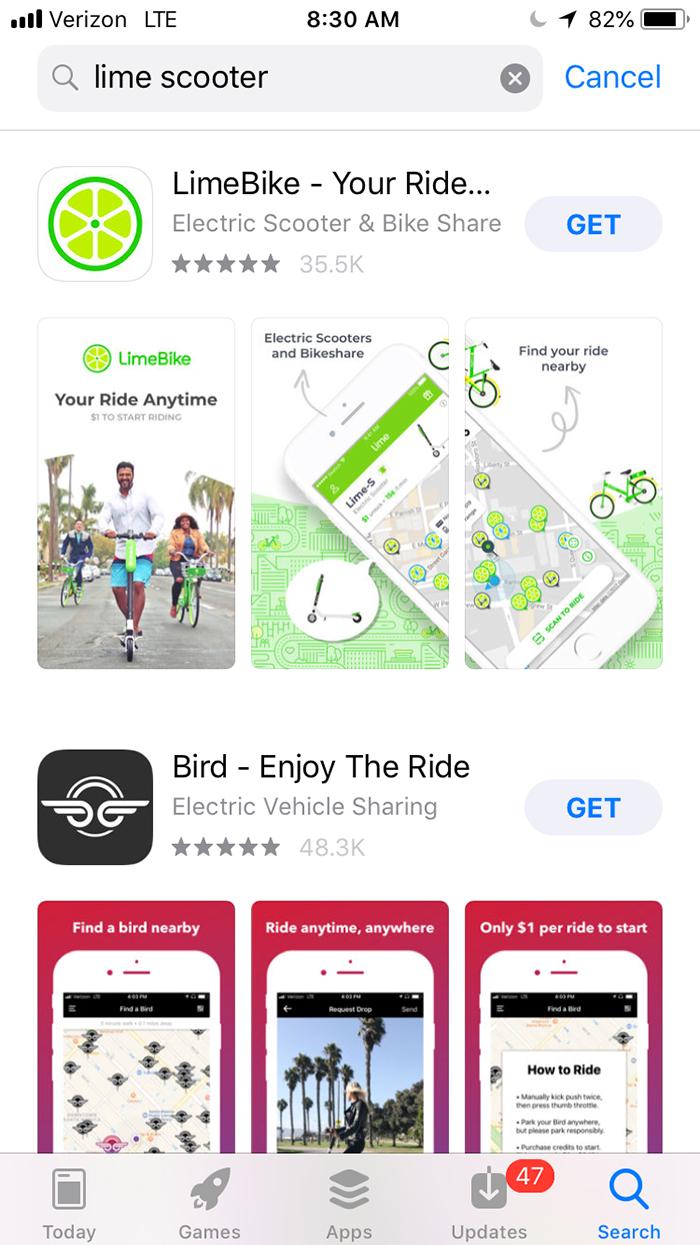 lime-bike-ios-app-charlotte