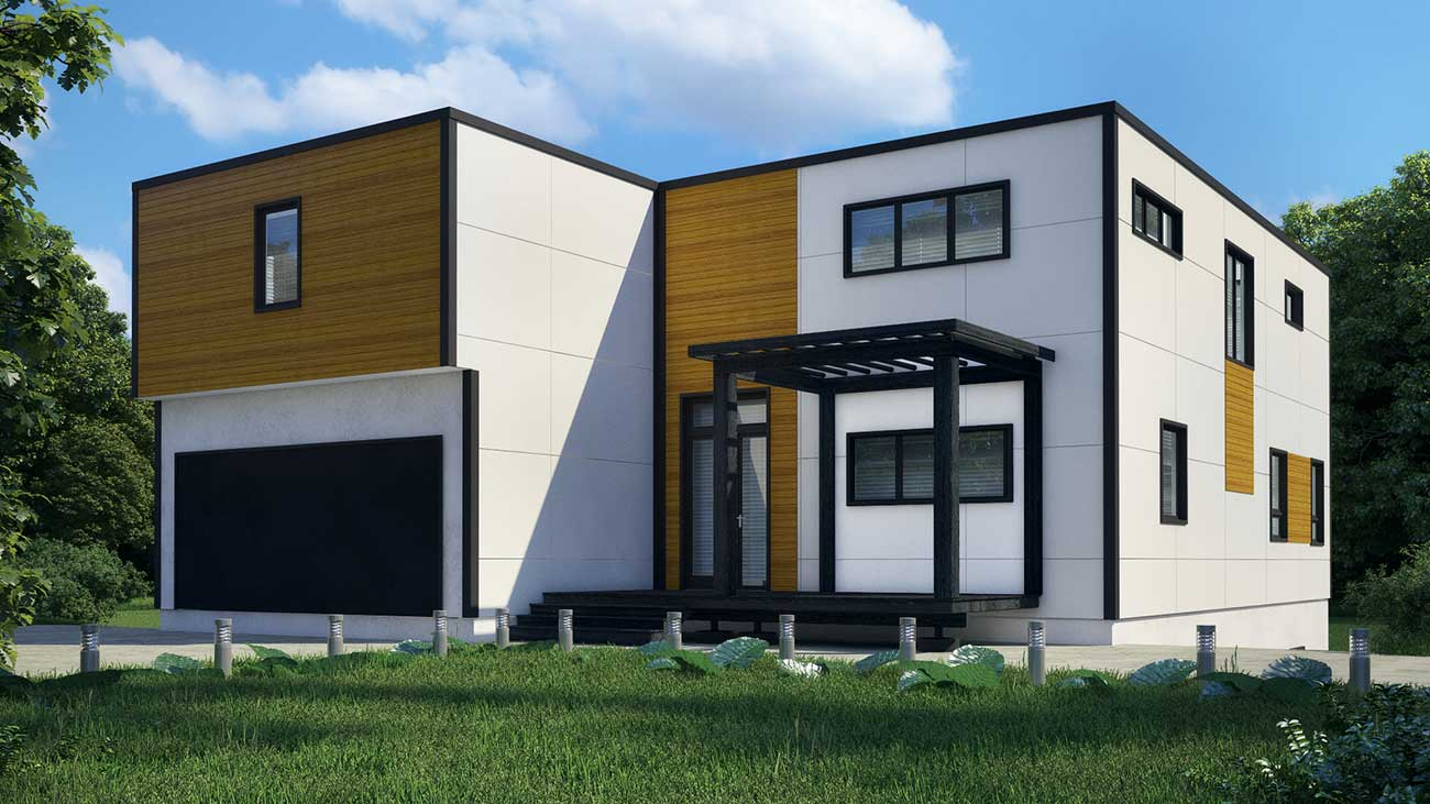 Charlotte's first modern modular home to be delivered this