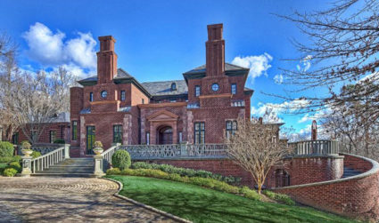 Exceptional gated manor on 5 acres