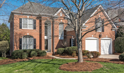 Huge all brick home in South Charlotte
