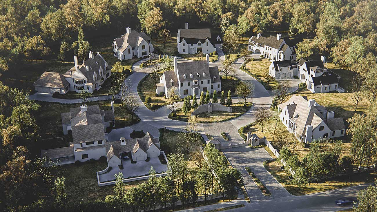 A 9-acre south Charlotte estate will become a neighborhood of $2 million custom manors