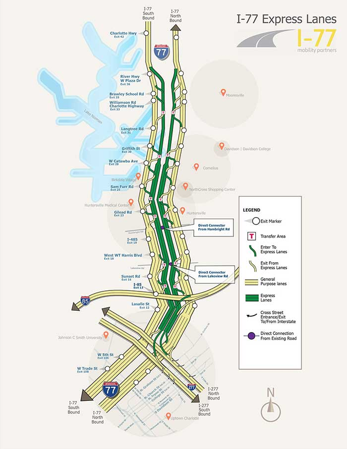 Toll lanes are coming to Charlotte commutes  Here's where