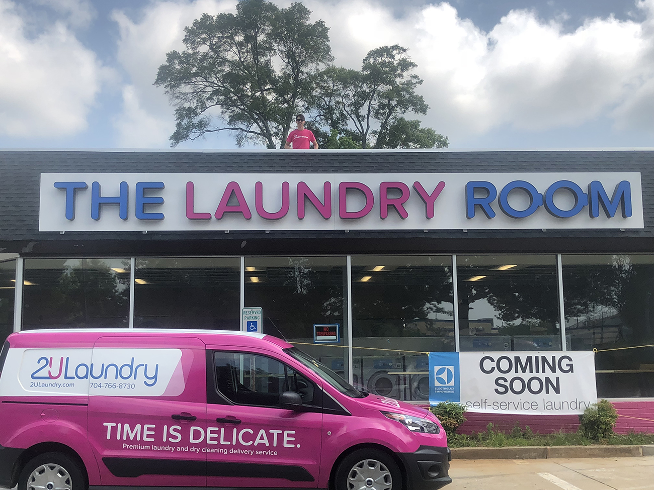 2ULaundry opening a brick-and-mortar laundromat with Electrolux in an old McDonald's space