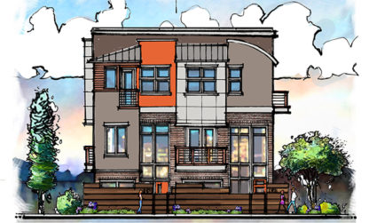Townhomes designed with soul on Kilborne Drive